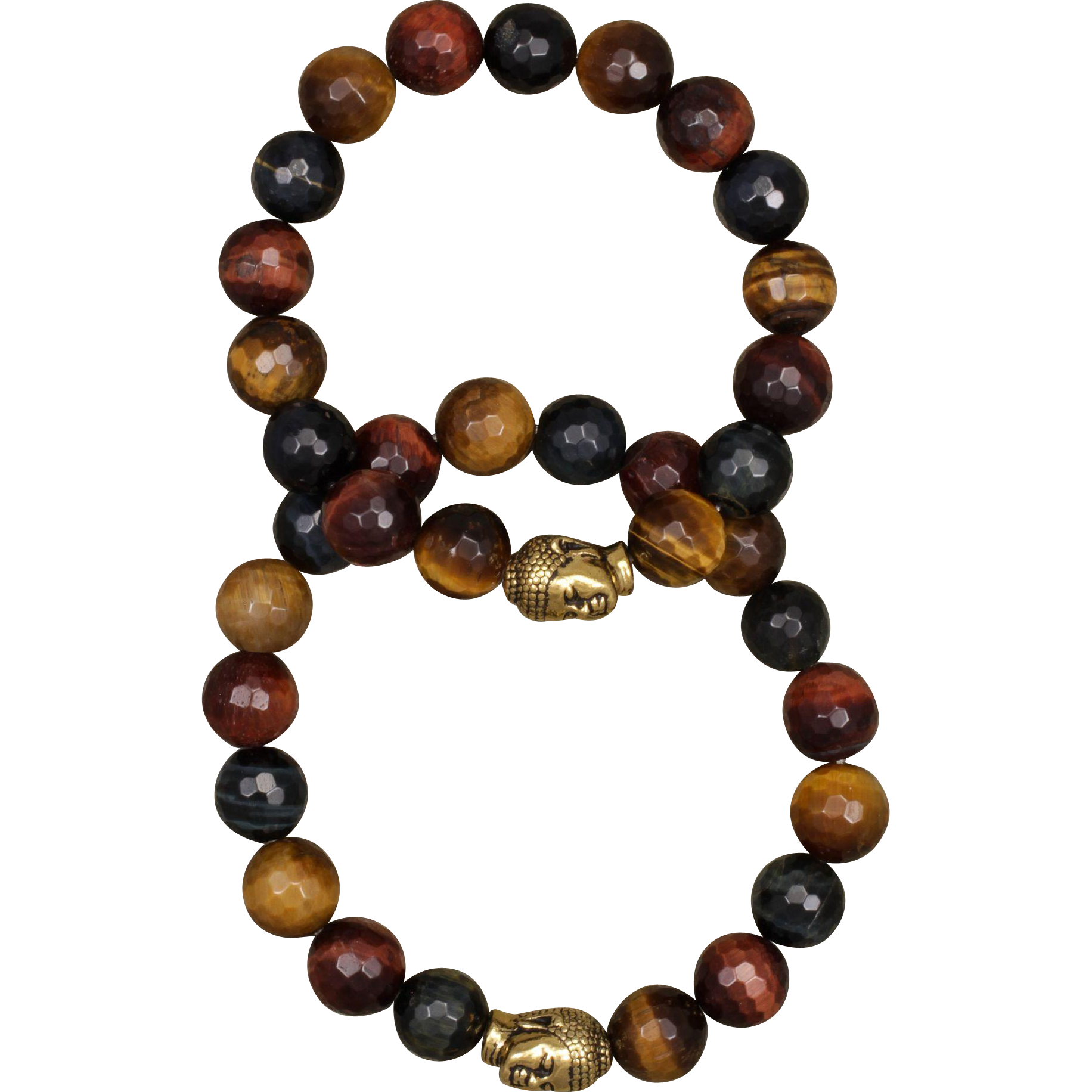 His and Hers Tiger Eye Harmony Bracelets