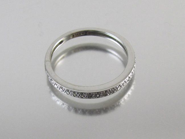 Vintage 14k White Gold 20 Diamond Wedding Ring Anniversary Band From Sundayandsunday On Ruby Lane