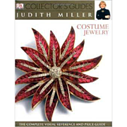 Costume Jewelry DK Collector's hardcover reference book and price guide by Judith Miller