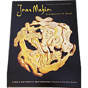 Jean Mahie: Sculpture in Gold hardback reference book Emily Stoehrer and Elizabeth Hamilton