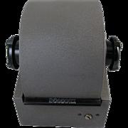 Vintage industrial metal Model 2254D Rolodex address file / A through Z tab cards / office / desk / Zephyr American / New York / USA