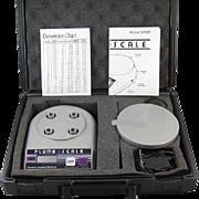 Precision Jewelers Balance Plumb Scale GP225 gold scale / jewelers scale / scrap gold / carry case / complete portable kit / jewelers supply