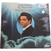 1976 Elvis Presley vinyl LP record gospel His Hand in Mine RCA ANL1-1319STEREO mint sealed original price tags