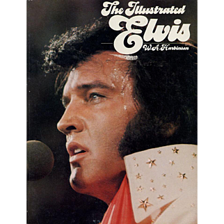 1976 vintage book Elvis Presley-The Illustrated Elvis by W.A. Harbinson soft cover Grosset & Dunlap