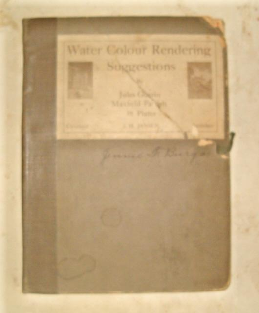 "Rare ""Water Colour Rendering Suggestions"" by Jules Guerin and Maxfield Parrish"