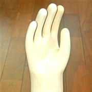 Retro Modern Large Size Glove Mold Hand Figure, VERY RARE! Fully Marked and Dated
