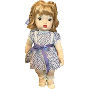 Vintage Vinyl Terri Lee Doll 1951