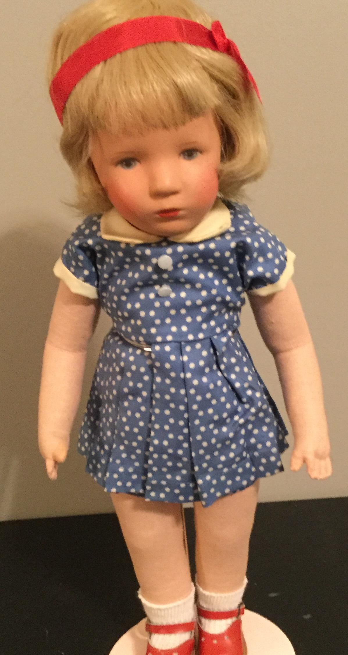 "14"" Kathe Kruse Doll all original Made in Germany"