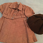 Doll Clothing Terri Lee Doll Brownie uniform with Beanie tagged 1950s