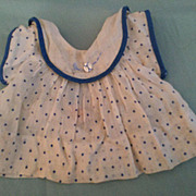 1930's Effanbee Dress Probably for a Patsy Doll Made in USA