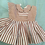 Terri Lee Doll Dress Tagged Made in  the 1950's. Terri Lee