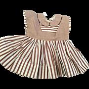 Terri Lee Doll Dress Tagged Made in  the 1950's. Terri Lee