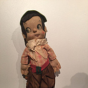 Cloth Character Boy Doll