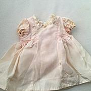 Madame Alexander Pink Taffeta Dress tagged