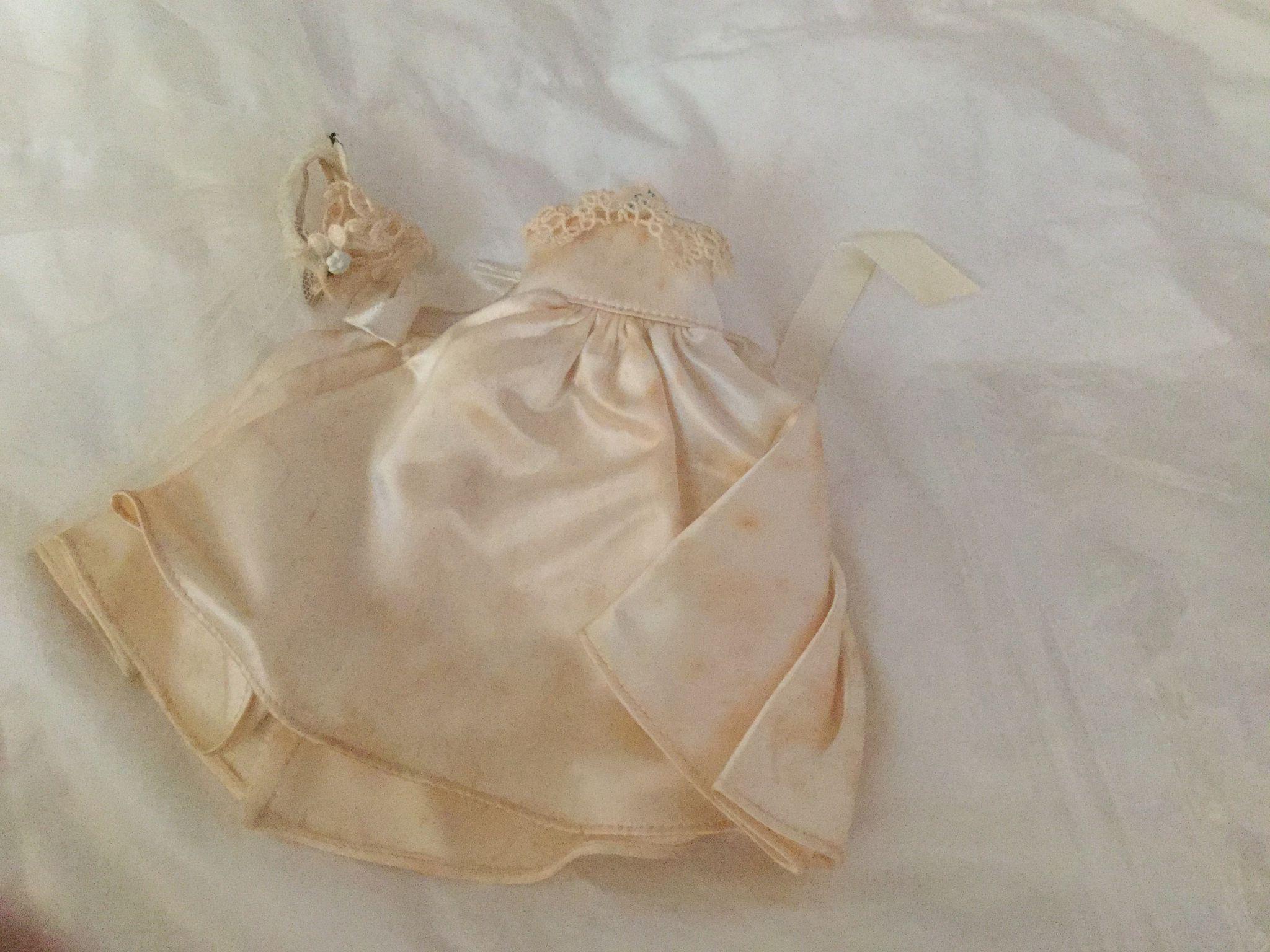 1950's Madame Alexander Alexander-kins Bride Dress and Veil