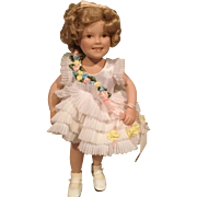 """9"""" Porcelain Shirley Temple Doll"""