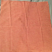 1850's Antique Fabric  primary color Red