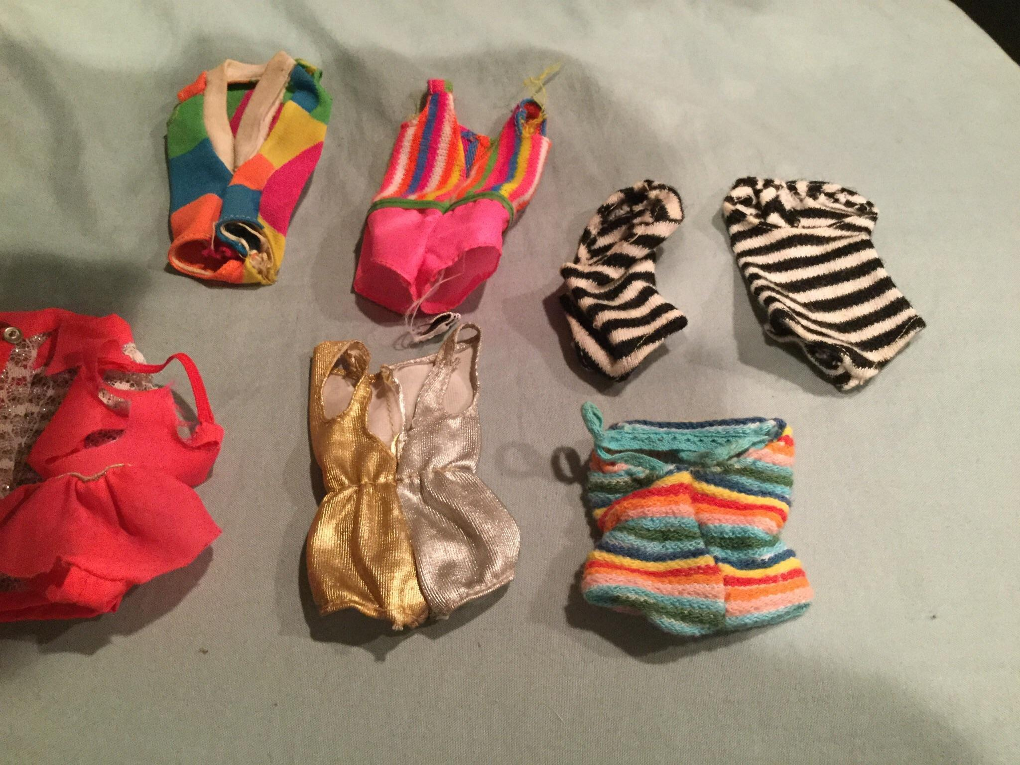 7 Barbie Family Vintage Swimsuits