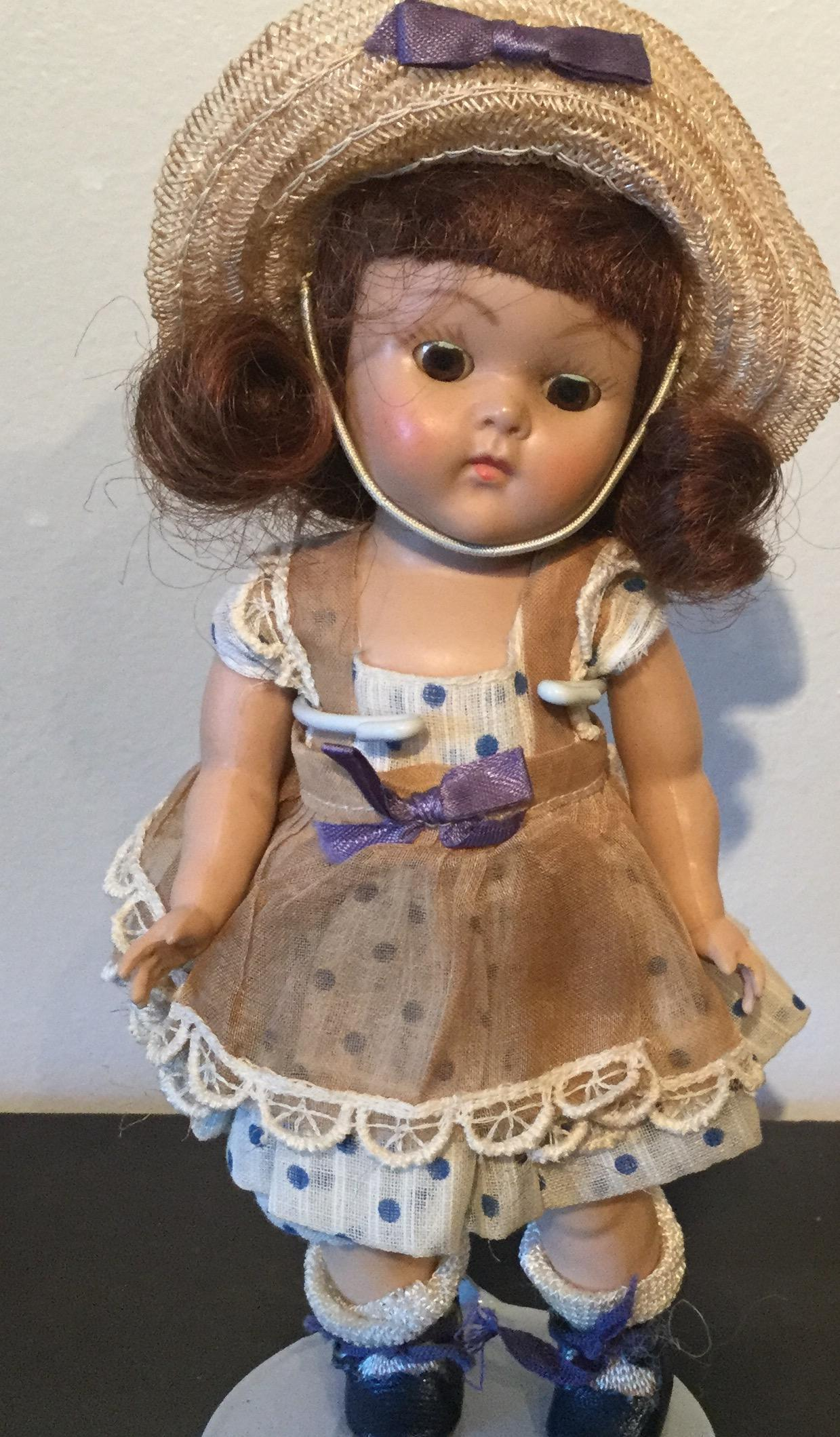 Lucy strung Ginny Vogue Doll Co. 1950's