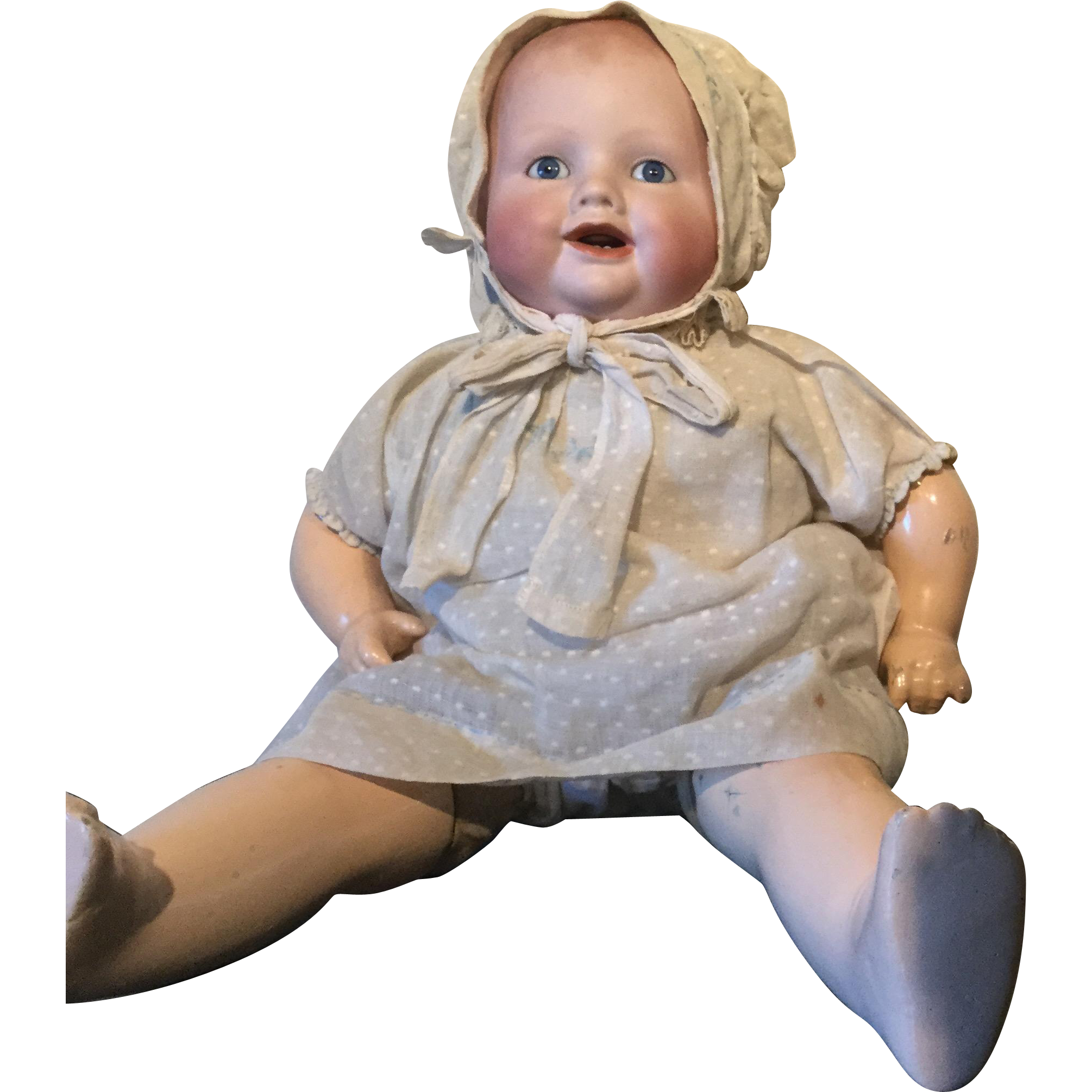 Georgene Bisque Baby made in Germany