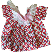 Shirley Temple type dress 1930's 1940's played with
