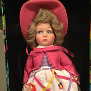 "14"" Lenci doll  1985 in box with paper work"