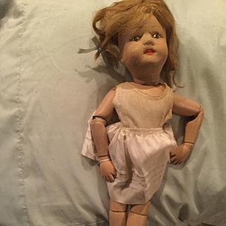 15' wooden Schoenhut Doll needs TLC made in the USA