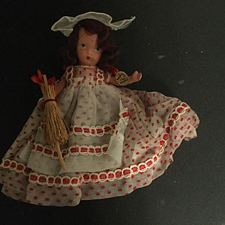 Nancy Ann Bisque Jointed Storybook Doll Saturday