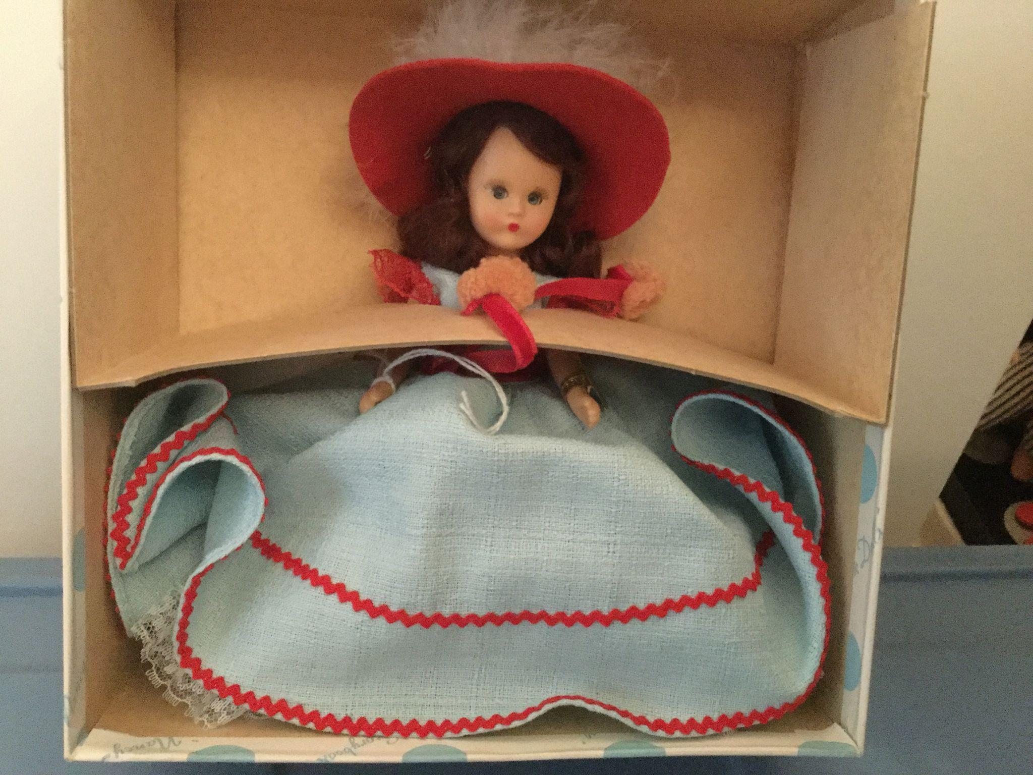 Nancy Ann Storybook Doll #189 March in Box