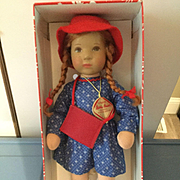 Kathe Kruse Girl in Box
