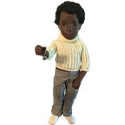 "17"" Sasha Black Caleb Boy Doll"