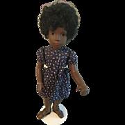"""17"""" Sasha Cora black doll"""