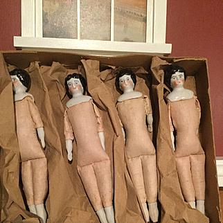 4 China  Dolls in original box  Germany