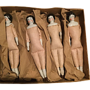 4 China  Dolls in original box  Germany