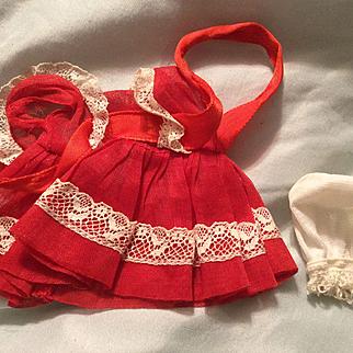 "8"" Vogue Ginny Dress 1950s tagged"
