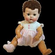 "15"" Tiny Tears American Character Doll caracul wig sleep eyes"