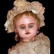 "AO Charming Wax Over 15"" doll"