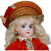 """16"""" FG in Scroll French Bisque Doll"""