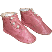 Authentic Pink Boots