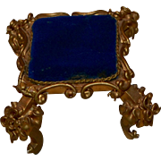 Versailles Style Carved Gilt Stool Miniature