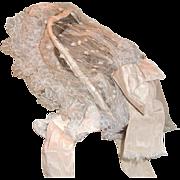 Wedding Bonnet 19th c., a Fanchon