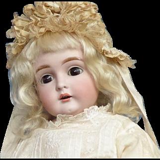 Rare Kestner mold 129 20 inch Bisque Dolly