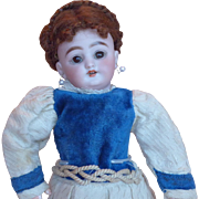 Antique 9 inch S&H 1079 Bisque Head Doll