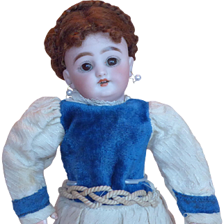 Antique 9 inch S&H 1079 Bisque Head Doll