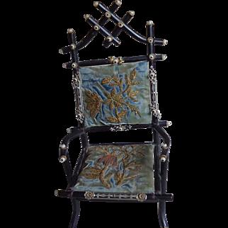 Victorian Doll's Chair - Elegant