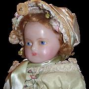 20 inch H.J.  Meech Original Wax Doll