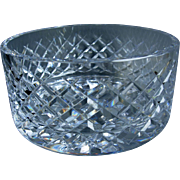 Vintage Waterford Crystal Fruit Bowl