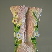 Elfinware Floral China Hat Pin Holder, Germany