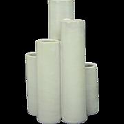 Mid-Century Modern White Vase, Italy
