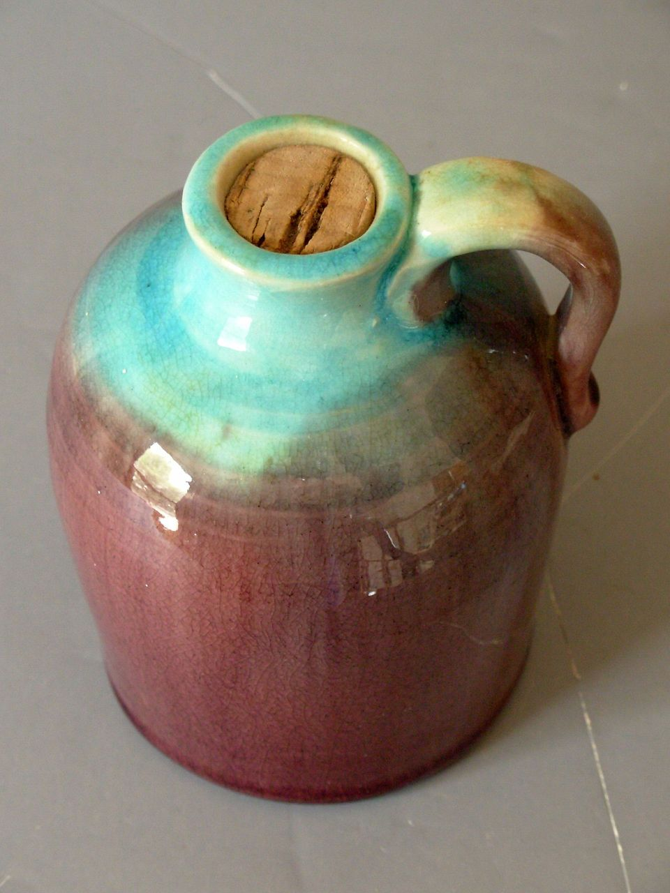 Vintage Pisgah Forest North Carolina Pottery Jug From